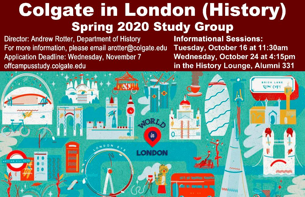 London History spring 2020